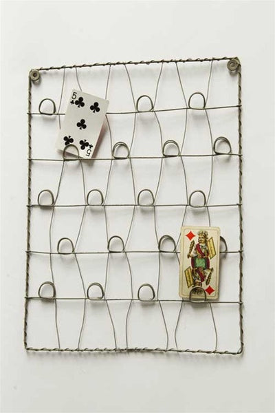 Wall Decor Card Holder : Small wire card holder vintage farmhouse finds
