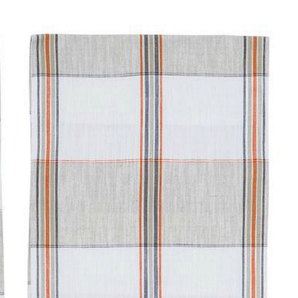 Woven Plaid Table Runner - Two Styles