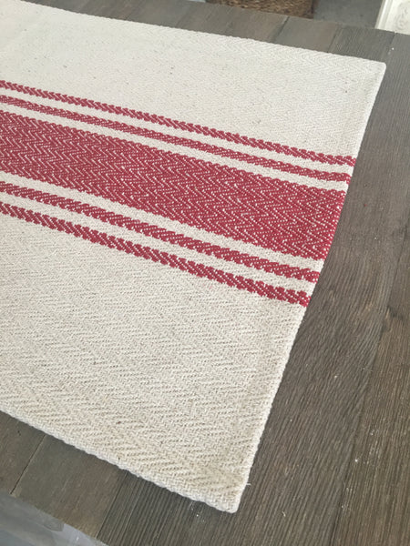 French Striped Table Runner