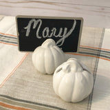 Pumpkin Name Card Holders - Set of Four