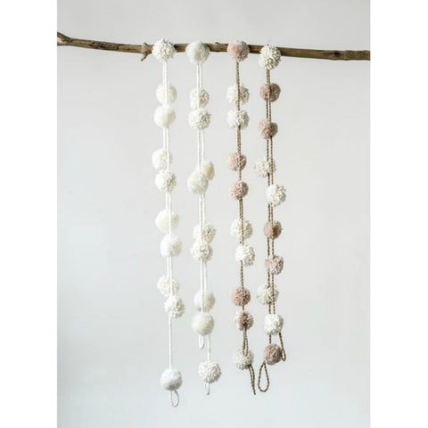 Pom-Pom Garland- Two Styles