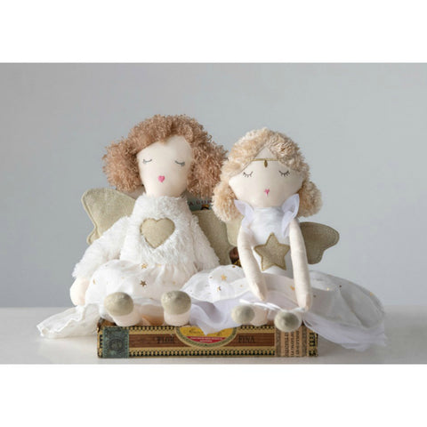 Holiday Plush Angel- Two Styles