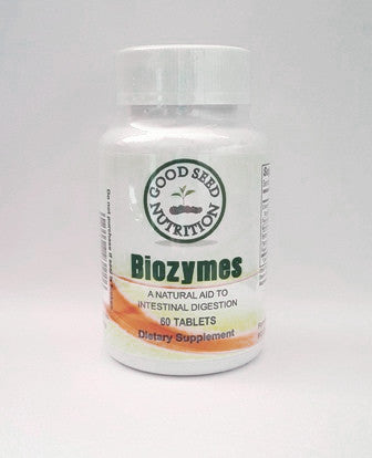 Biozymes, Digestive Enzymes, 60 Tablets
