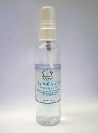 Crystal Kleen, Deodorant Spray, 4 fl. oz.