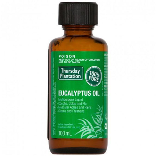 Thursday Plantation 100% Pure Eucalyptus Oil 100mL