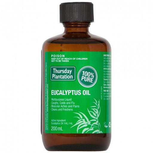 Thursday Plantation 100% Pure Eucalyptus Oil 200mL