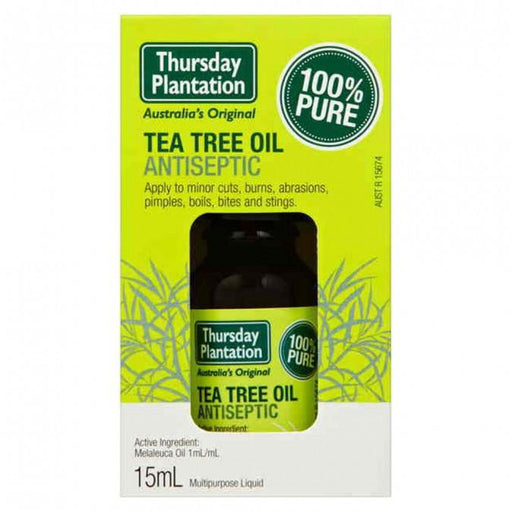 Thursday Plantation 100% Pure Tea Tree Oil 15ml