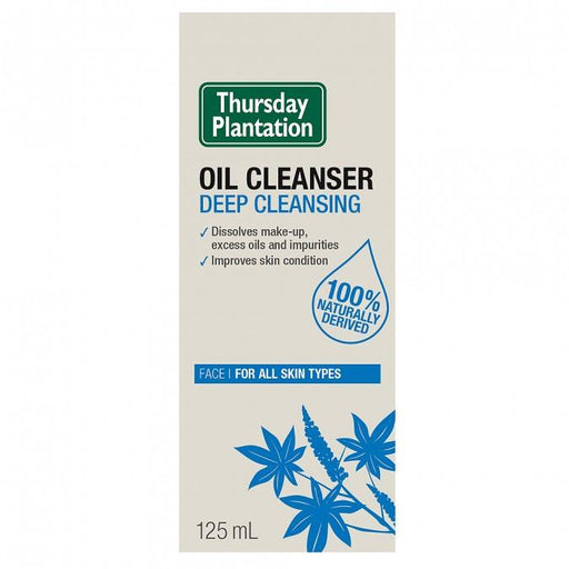 Thursday Plantation Oil Cleanser Deep Cleansing 125mL