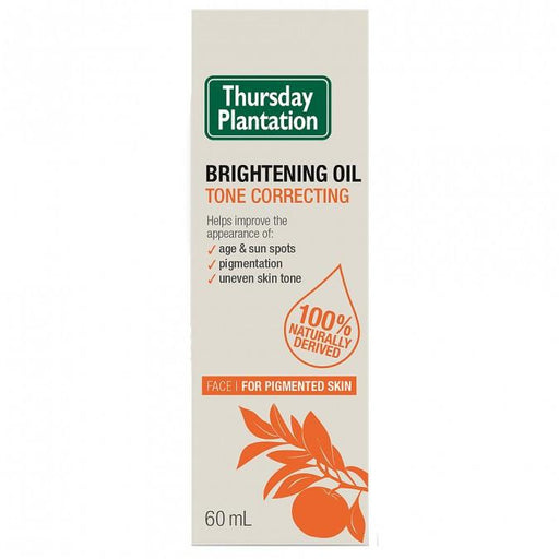 Thursday Plantation Brightening Oil Tone Correcting 60mL