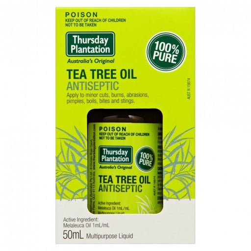 Thursday Plantation 100% Pure Tea Tree Oil 50mL