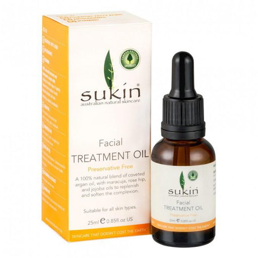 Sukin Facial Treatment Oil 25ml