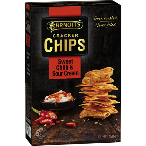Cracker Chips Sweet Chilli & Sour Cream 150g
