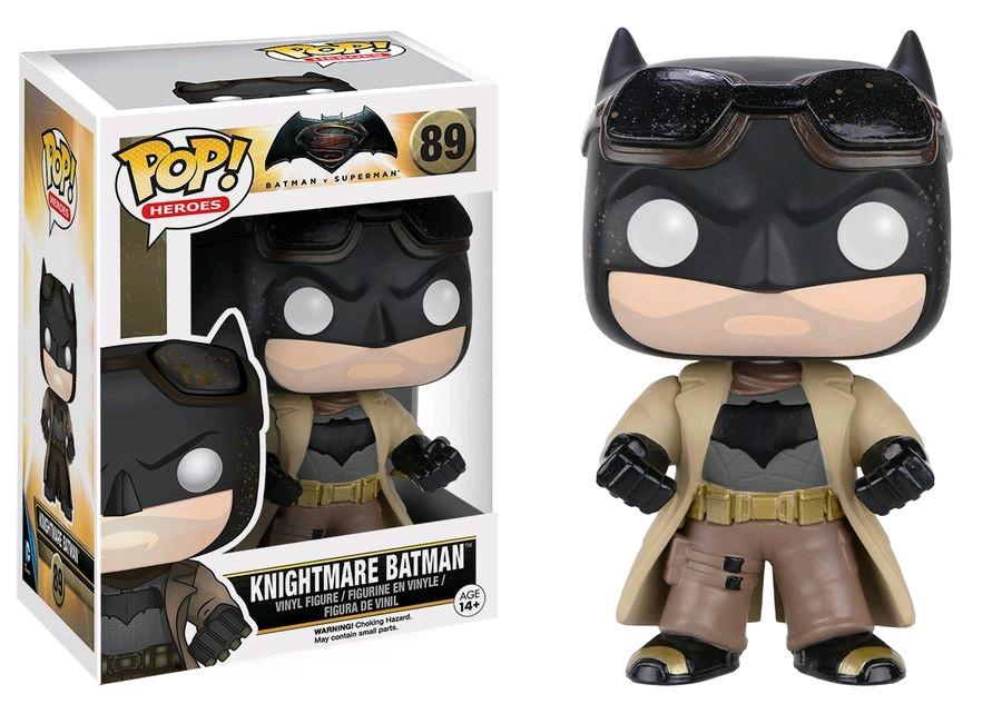 Batman v Superman: Dawn of Justice - Knightmare Batman, POP! Vinyl Figure