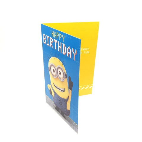 minions Birthday Card - Stuart 生日卡