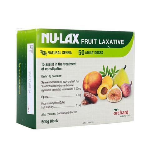 Nu-Lax Fruit Laxative Block 樂康膏