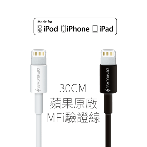 DEVILCASE MFI Lightning Cable 充電線