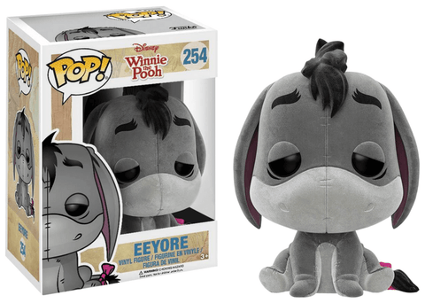Disney: Winnie the Pooh - Eeyore *Flocked (US Exclusive), POP! Vinyl Figure