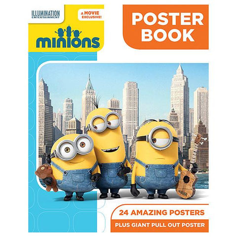 minions poster book