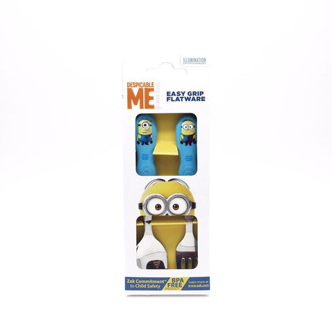 Zak! minions Easy Grip Cutlery Set  迷你兵團 餐具