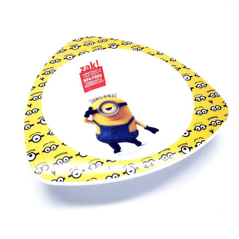 Zak! minions Shaped Bowl  迷你兵團 碗