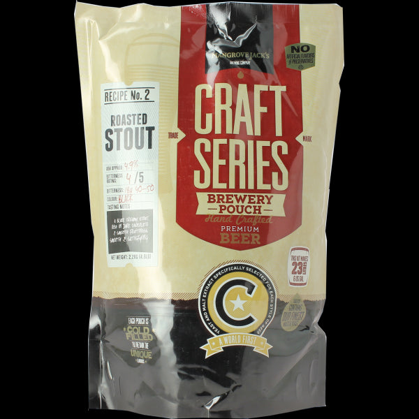 Mangrove Jack's Craft Series Roasted Stout Pouch