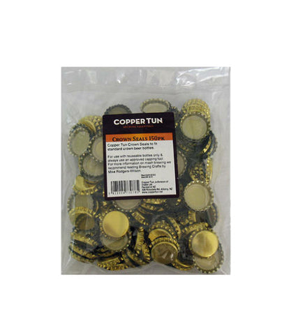 Crown Seals x 150 (Gold)