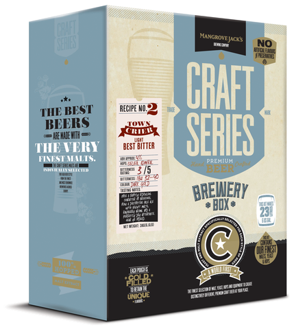 Mangrove Jack's Craft Series Brewery Box Town Crier- Light Best Bitter