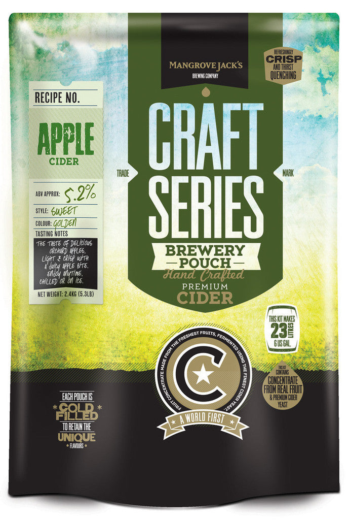 Mangrove Jack's Craft Series Apple Cider Pouch