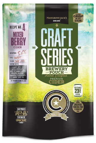 Mangrove Jack's Craft Series Mixed Berry Cider Pouch