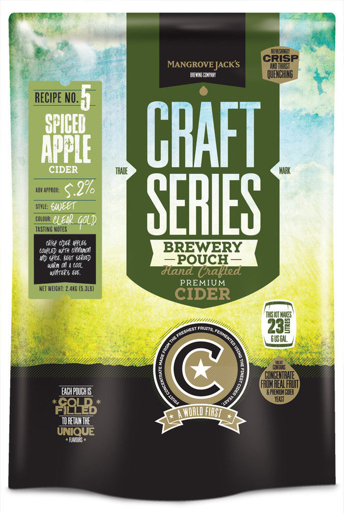 Mangrove Jack's Craft Series Spiced Apple Cider Pouch