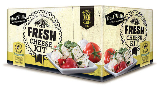 Mad Millie Fresh Cheese Ingredient Kit
