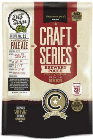 Mangrove Jack's Craft Series NZ Pale Ale Pouch with Dry Hops