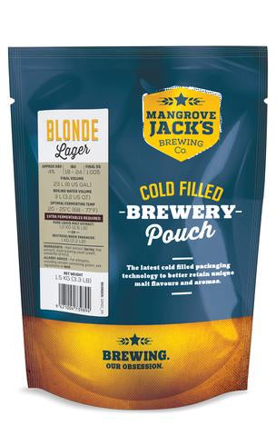 Mangrove Jack's Traditional Series Blonde Lager Pouch - 1.5kg
