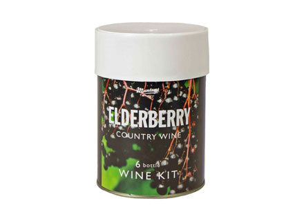Muntons Elderberry Country Wine Kit