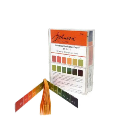 PH Indicator Papers – 20 strips