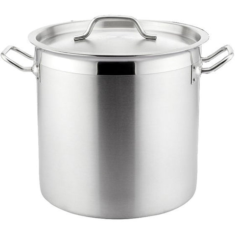 Steel King Stainless Steel 25 Litre Stock Pot