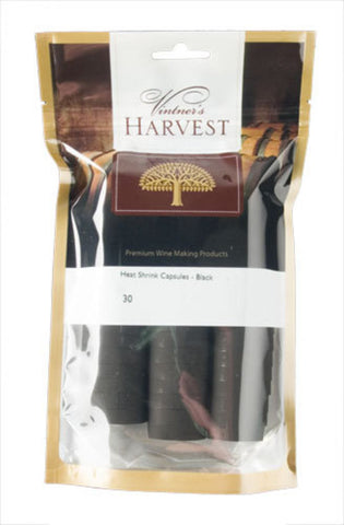 Vintner's Harvest Heat Shrink Capsules – Black