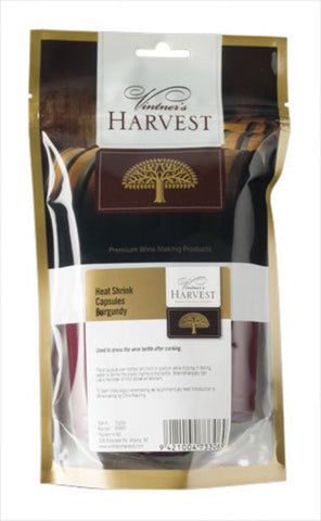 Vintner's Harvest Heat Shrink Capsules – Burgundy