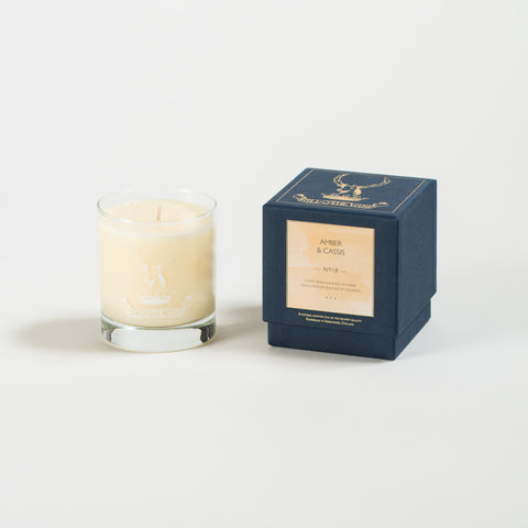 Amber & Cassis Jar Candle No 18
