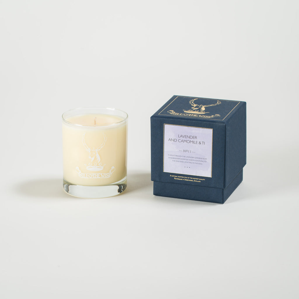 Lavender and Camomile & Ti Jar Candle