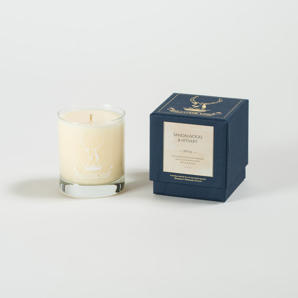 Sandalwood & Vetivert Jar Candle