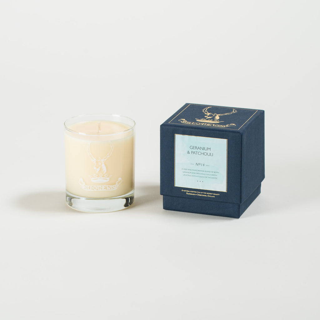 Geranium & Patchouli Jar Candle