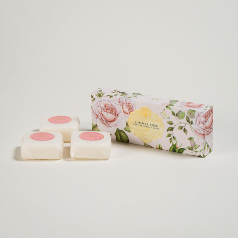 Summer Rose Rich Shea Butter Soaps (x3)