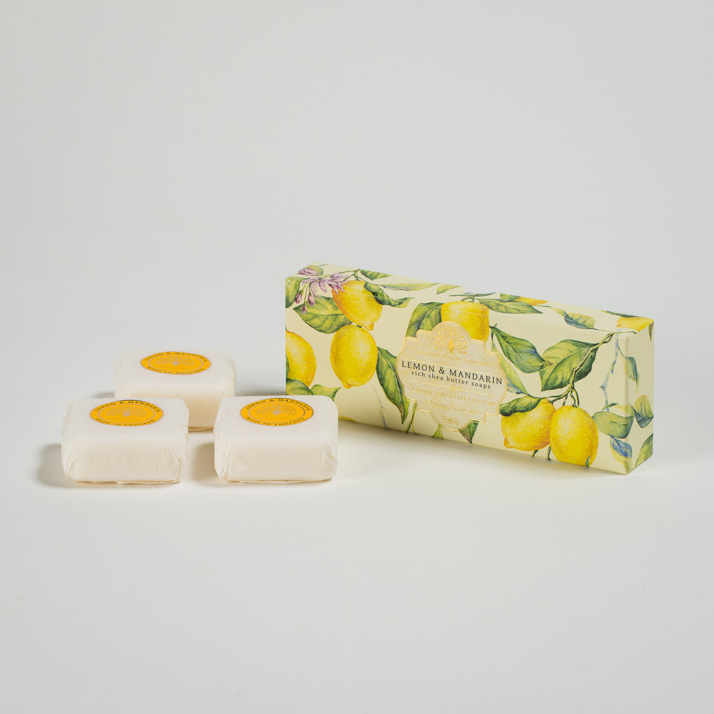 Lemon & Mandarin Rich Shea Butter Soaps