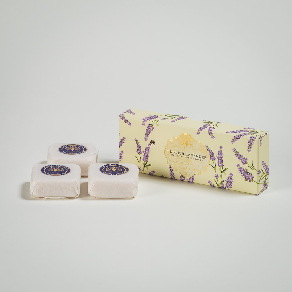 English Lavender Rich Shea Butter Soaps