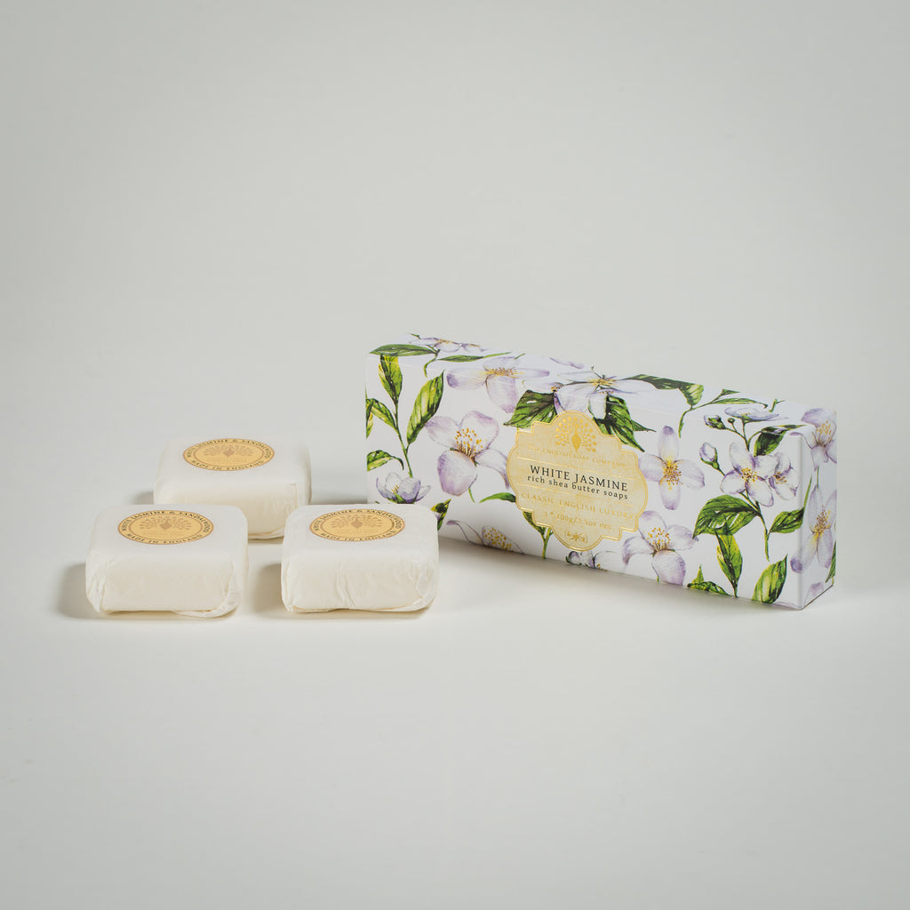 White Jasmine Rich Shea Butter Soaps