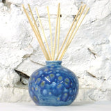 Ceramic Dovedale Reed Diffuser Jar - Round Mermaid Blue No 74