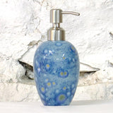 Ceramic Liquid Soap Dispenser - Mermaid Blue No 77