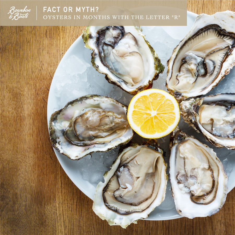 "Fact or Myth? Oysters In Months with the Letter ""R"""