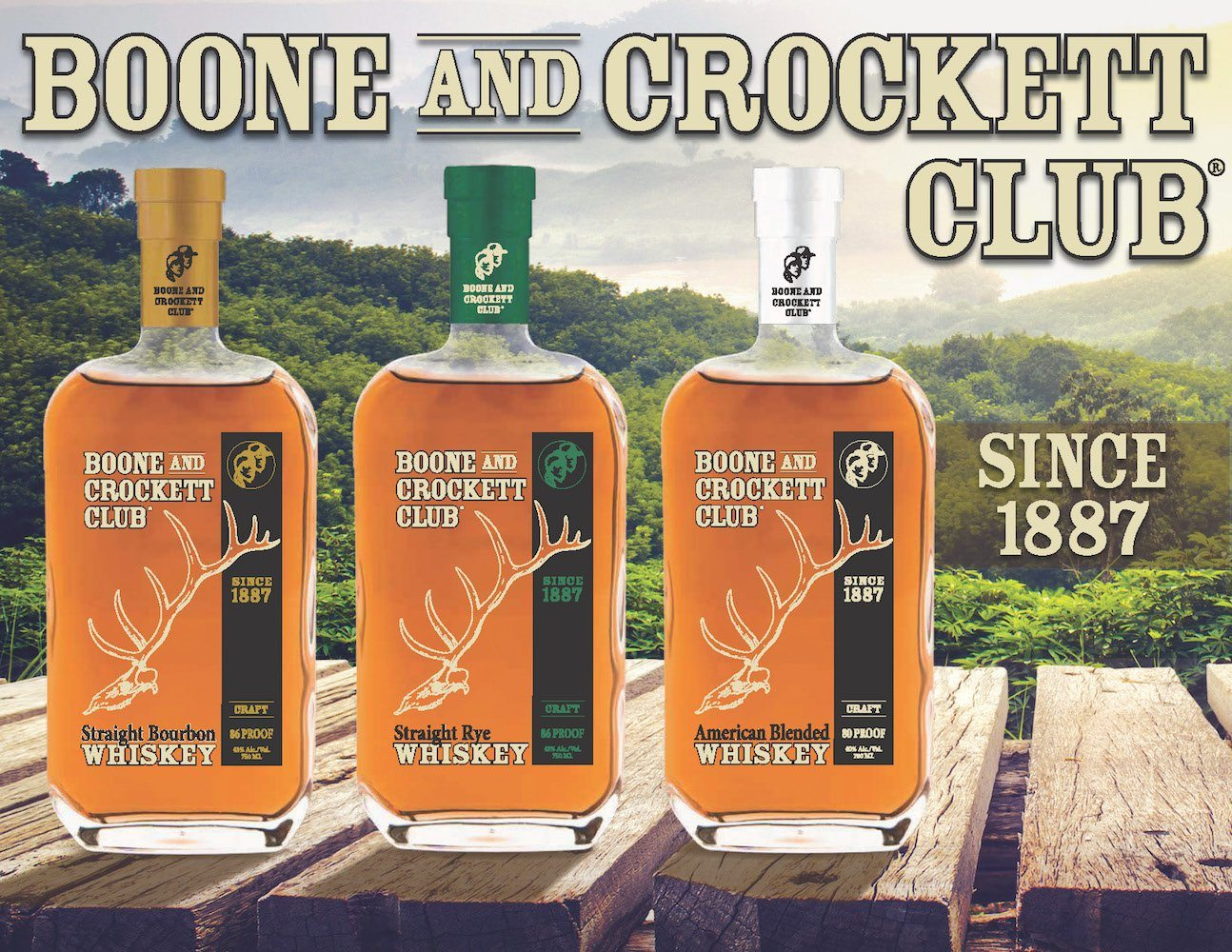 EXCLUSIVE OFFERS FOR BOONE AND CROCKET WHISKEY REWARDS MEMBERS